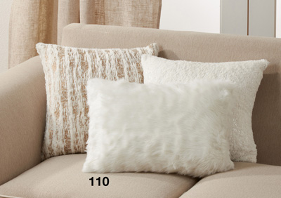 110 Faux Fur Pillow