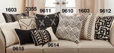 2355 Printed + Embroidered Pillow