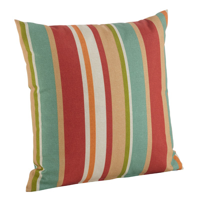 16047 awning stripe outdoor pillow