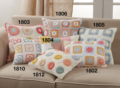 1812 Crochet Pillow
