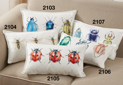 2105 Lady Bugs Pillow