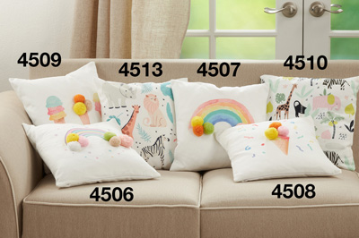 4510 Safari Animals Pillow