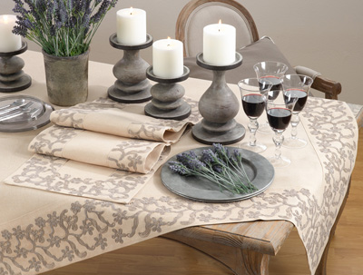 0318 floral emroidered tablecloth