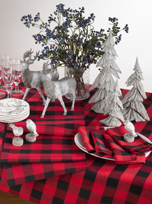 Delicieux 5026 Buffalo Plaid Tablecloth