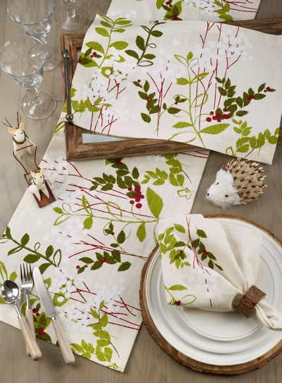 534 Holiday Botanical Placemat
