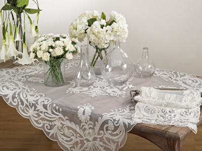 AN01 embroidered tablecloth Closeout