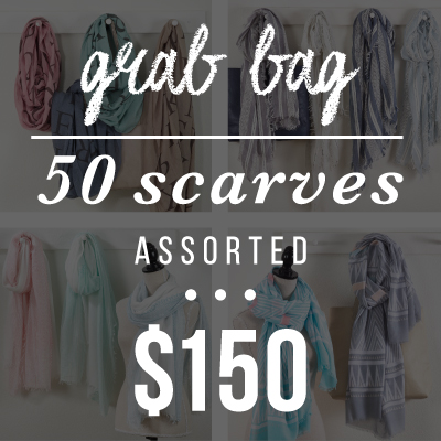 GB01S - Grab Bag Scarves