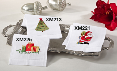 XM221 christmas towel