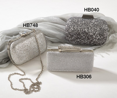 HB748 sparkling design evening bags
