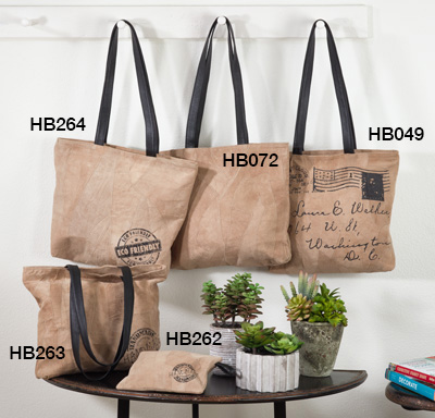 HB263 leather tote bags