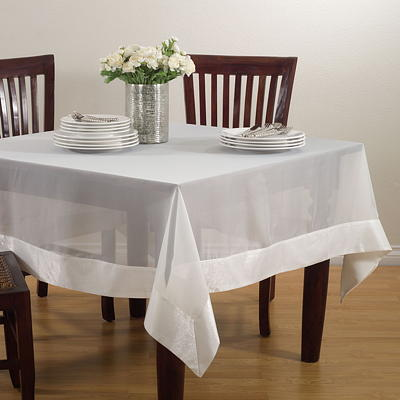 JH002 sheer elegance tablecloths