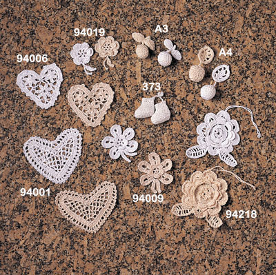 94009 Crochet Lace Flower