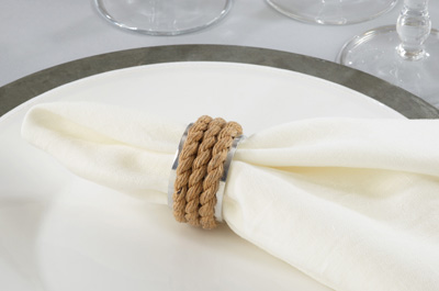 NR139 rope napkin ring