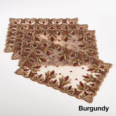NTB01 beaded placemats