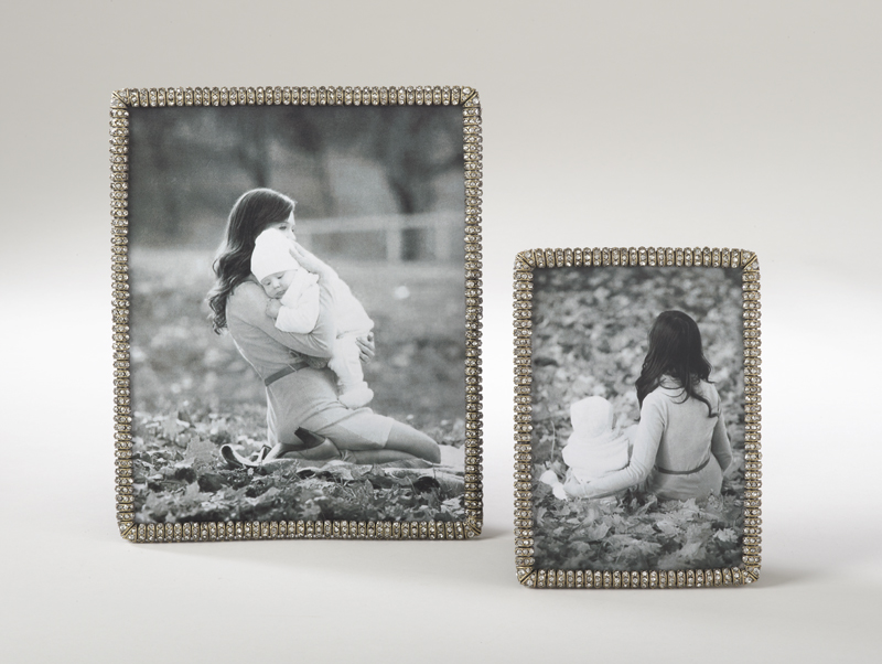 PF065 jeweled photo frames