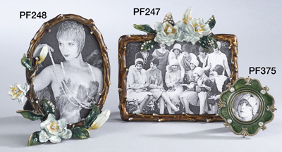 PF247 floral photo frame
