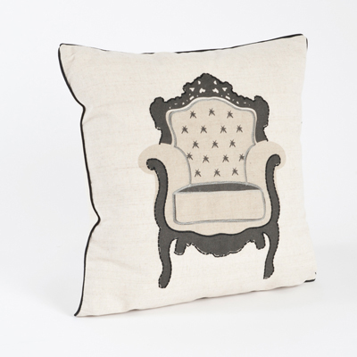 1080 chaise de salon pillow