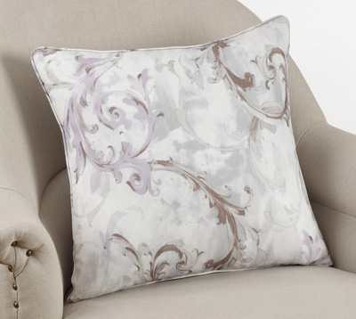 1322P baroque flourish pillow