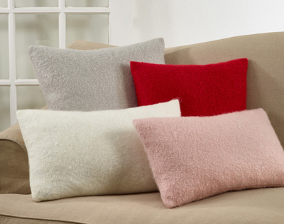 215 Faux Mohair Pillow