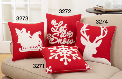 3272 let it snow pillow