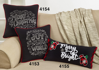 4155 Merry & Bright Pillow