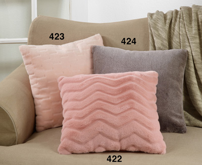 424 Faux Fur Pillow