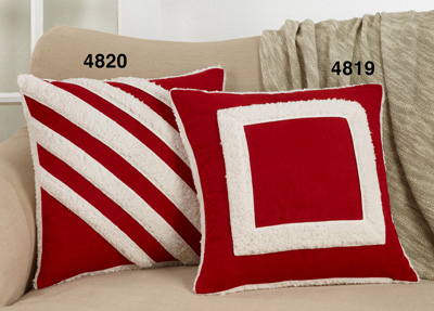 4819 Square Sherpa Pillow