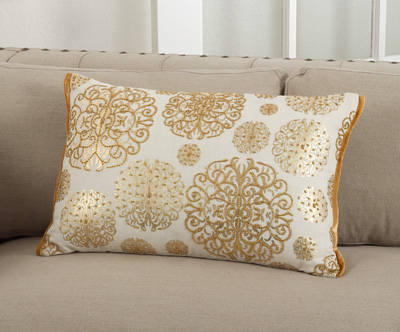 5880 beaded design pillows