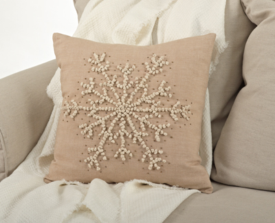 705 snowflake pillow