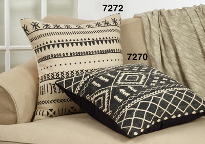7272 Mudcloth Pattern Pillow
