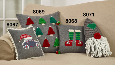 8068 Elf Legs Pillow