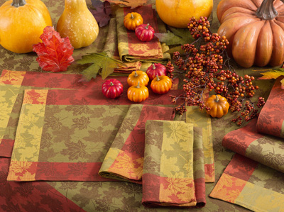 1221 foliage placemat