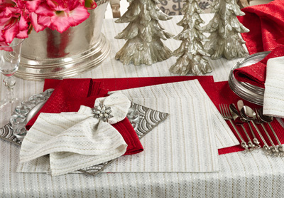 8574 stitched design placemats