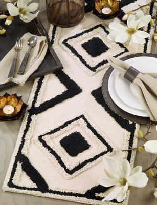 2161 Diamond Rug Runner