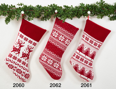 2062 christmas sweater stocking
