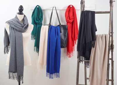 S673 faux cashmere scarf