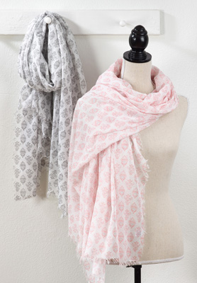 S864 printed scarf