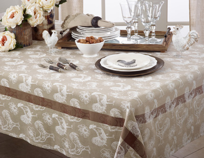 1182 rooster tablecloth