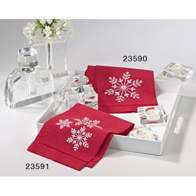 23590 snowflake towels