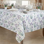 1127 Lavender Tablecloth