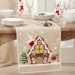 1171 Gingerbread House Runner