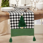 1330 Buffalo Plaid Tree Runner