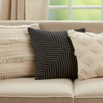 1452 Pom Pom Striped Pillow