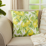 1528 Printed Lemon Pillow