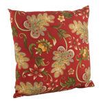 16048 flowering vine outdoor pillow