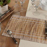 1702 Striped Water Hyacinth Placemat