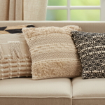 1725 Fringe Boho Pillow