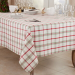 1783 Plaid Tablecloth