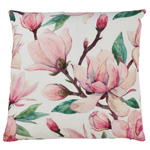 1831 magnolia outdoor pillow