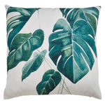 1862 palm leaves outdoor pillow